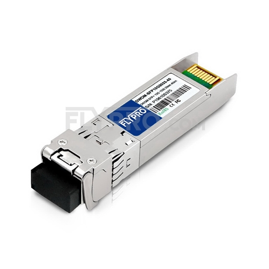 Picture of Brocade C59 10G-SFPP-ZRD-1530.33 Compatible 10G DWDM SFP+ 100GHz 1530.33nm 40km DOM Transceiver Module