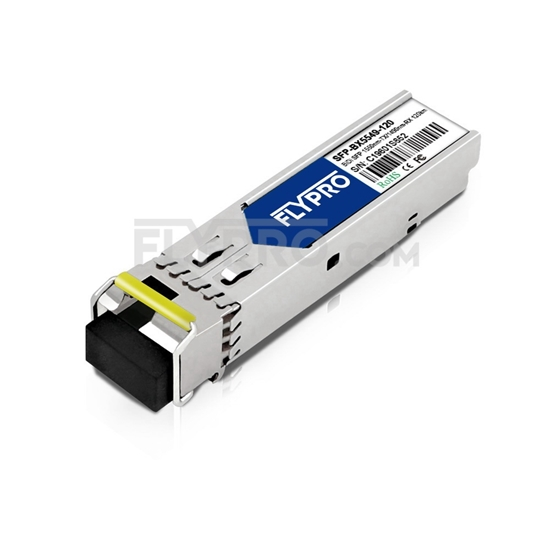 Picture of Extreme Networks MGBIC-BX120-D Compatible 1000BASE-BX BiDi SFP 1550nm-TX/1490nm-RX 120km DOM Transceiver Module