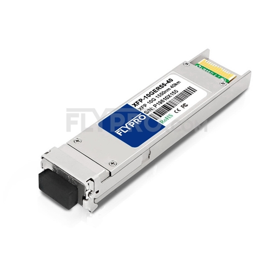 Picture of H3C XFP-LH40-SM1550-F1 Compatible 10GBASE-ER XFP 1550nm 40km DOM Transceiver Module