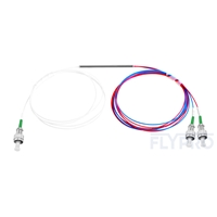Picture of 1X2 FC/APC FBT Splitter Single Mode Dual Window 0.9mm Fiber with Loose Tube