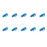 Picture of LC/UPC Single Mode Fixed Fiber Optic Attenuator, Male-Female, 12dB (10pcs/Pack)