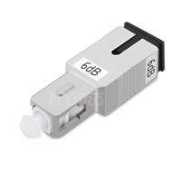 Picture of SC/UPC Single Mode Fixed Fiber Optic Attenuator, Male-Female, 6dB
