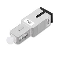 Atténuateur à Fibre Optique Fixe Monomode SC/UPC, Mâle-Femelle, 15dB