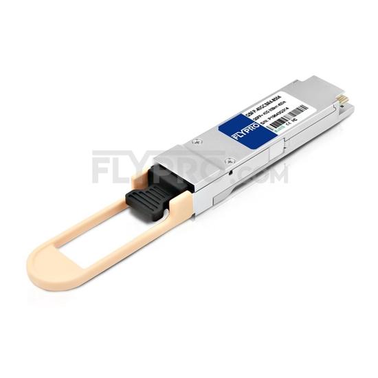 Bild von Transceiver Modul mit DOM - Dell Networking 407-BBPH Kompatibel 40GBASE-ESR4 QSFP+ 850nm 400m MTP/MPO