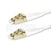 صورة  كابل توصيل فايبر متعدد 1 متر (3 قدم) LC UPC to LC UPC Duplex OM3 Multimode LSZH 2.0mm