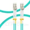 صورة  كابل توصيل فايبر متعدد 1 متر (3 قدم) LC UPC to LC UPC Duplex OM3 Multimode OFNP 2.0mm