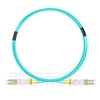 Picture of 3m (10ft) LC UPC to LC UPC Duplex OM4 Multimode LSZH 2.0mm Fiber Optic Patch Cable