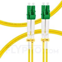 Bild von 1m (3ft) LC APC to LC APC Duplex 2.0mm OFNP 9/125 Single Mode Fiber Patch Cable