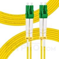 Bild von 10m (33ft) LC APC to LC APC Duplex 3.0mm PVC (OFNR) 9/125 Single Mode Fiber Patch Cable