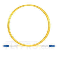 Bild von LWL-Patchkabel, 3m (10ft) LC UPC auf LC UPC Simplex OS2 Singlemode PVC (OFNR) 2.0mm