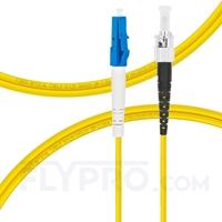 Bild von LWL-Patchkabel, 2m (7ft) LC UPC auf ST UPC Simplex OS2 Singlemode PVC (OFNR) 2.0mm
