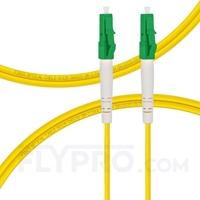 Bild von LWL-Patchkabel, 1m (3ft) LC APC auf LC APC Simplex OS2 Singlemode PVC (OFNR) 2.0mm