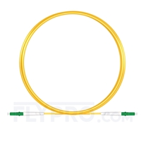 Bild von LWL-Patchkabel, 3m (10ft) LC APC auf LC APC Simplex OS2 Singlemode PVC (OFNR) 2.0mm