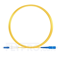 Bild von 3m (10ft) LC UPC to SC UPC Simplex OS2 Single Mode LSZH 2.0mm Fiber Optic Patch Cable