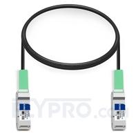 Bild von Brocade 100G-Q28-Q28-C-0101 Kompatibles 100G QSFP28 Passives Kupfer Twinax Direct Attach Kabel (DAC), 1m (3ft)