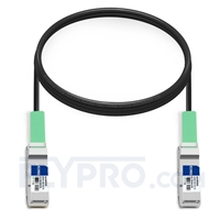 Picture of 2m (7ft) Juniper Networks JNP-100G-DAC-2M Compatible 100G QSFP28 Passive Direct Attach Copper Twinax Cable