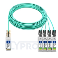 Bild von Arista Networks AOC-Q-4S-100G-50M Kompatibles 100G QSFP28 auf 4x25G SFP28 Breakout Aktives Optisches Kabel (AOC), 50m (164ft)