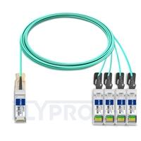 Bild von Brocade 100G-Q28-S28-AOC-1001 Kompatibles 100G QSFP28 auf 4x25G SFP28 Breakout Aktives Optisches Kabel (AOC), 10m (33ft)