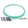 Picture of 7m (23ft) Dell AOC-Q28-4SFP28-25G-7M Compatible 100G QSFP28 to 4x25G SFP28 Breakout Active Optical Cable