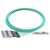 Picture of 10m (33ft) Dell AOC-Q28-4SFP28-25G-10M Compatible 100G QSFP28 to 4x25G SFP28 Breakout Active Optical Cable