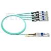 Bild von Arista Networks QSFP-4X10G-AOC3M Kompatibles 40G QSFP+ auf 4x10G SFP+ Breakout Aktives Optisches Kabel (AOC), 3m (10ft)