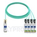 Bild von Arista Networks QSFP-4X10G-AOC20M Kompatibles 40G QSFP+ auf 4x10G SFP+ Breakout Aktives Optisches Kabel (AOC), 20m (66ft)