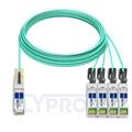 Bild von Arista Networks QSFP-4X10G-AOC30M Kompatibles 40G QSFP+ auf 4x10G SFP+ Breakout Aktives Optisches Kabel (AOC), 30m (98ft)