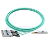 Picture of 10m (33ft) Avago AFBR-7IER10Z Compatible 40G QSFP+ to 4x10G SFP+ Breakout Active Optical Cable