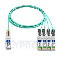 Bild von Extreme Networks 10GB-4-F10-QSFP Kompatibles 40G QSFP+ auf 4x10G SFP+ Breakout Aktives Optisches Kabel (AOC), 10m (33ft)