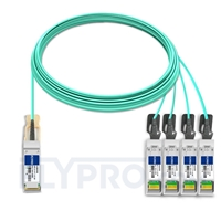 Bild von Extreme Networks 10GB-4-F20-QSFP Kompatibles 40G QSFP+ auf 4x10G SFP+ Breakout Aktives Optisches Kabel (AOC), 20m (66ft)