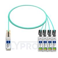 Bild von Extreme Networks 10GB-4-F02-QSFP Kompatibles 40G QSFP+ auf 4x10G SFP+ Breakout Aktives Optisches Kabel (AOC), 2m (7ft)