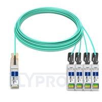 Bild von Extreme Networks 10GB-4-F30-QSFP Kompatibles 40G QSFP+ auf 4x10G SFP+ Breakout Aktives Optisches Kabel (AOC), 30m (98ft)