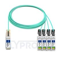 Bild von Extreme Networks 10GB-4-F15-QSFP Kompatibles 40G QSFP+ auf 4x10G SFP+ Breakout Aktives Optisches Kabel (AOC), 15m (49ft)