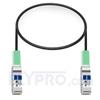 Picture of 0.5m (2ft) Enterasys Networks 40GB-C0.5-QSFP Compatible 40G QSFP+ Passive Direct Attach Copper Cable