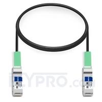 Picture of 1m (3ft) HUAWEI LE0CQP10QP00-01 Compatible 40G QSFP+ Active Direct Attach Copper Cable