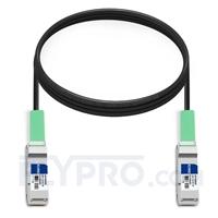 Picture of 3m (10ft) HUAWEI LE0CQP10QP00-03 Compatible 40G QSFP+ Active Direct Attach Copper Cable