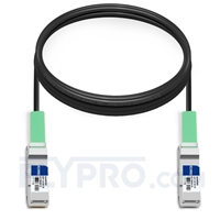 Picture of 5m (16ft) IBM BN-QS-QS-CBL-5M Compatible 40G QSFP+ Passive Direct Attach Copper Cable