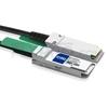 Picture of 0.5m (2ft) IBM BN-QS-QS-CBL-50CM Compatible 40G QSFP+ Passive Direct Attach Copper Cable