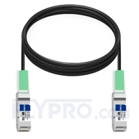 Picture of 10m (33ft) Juniper Networks JNP-QSFP-DAC-10MA Compatible 40G QSFP+ Active Direct Attach Copper Cable