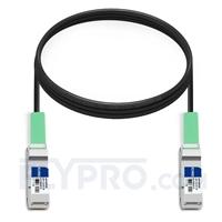 Picture of 3m (10ft) Juniper Networks QFX-QSFP-DAC-3M Compatible 40G QSFP+ Passive Direct Attach Copper Cable