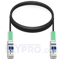 Picture of 5m (16ft) Juniper Networks QFX-QSFP-DAC-5MA Compatible 40G QSFP+ Active Direct Attach Copper Cable