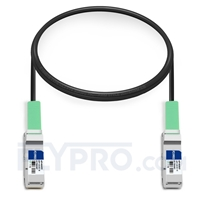 Picture of 1m (3ft) Juniper Networks QFX-QSFP-DAC-1MA Compatible 40G QSFP+ Active Direct Attach Copper Cable