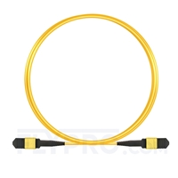 Picture of 3m (10ft) Senko MPO Female 12 Fibers Type B LSZH OS2 9/125 Single Mode Elite Trunk Cable, Yellow