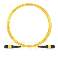 Picture of 10m (33ft) Senko MPO Female 12 Fibers Type A LSZH OS2 9/125 Single Mode Elite Trunk Cable, Yellow