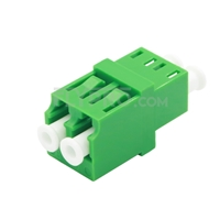 Picture of LC/APC to LC/APC Duplex Single Mode Fiber Optic Adapter/Mating Sleeve without Flange