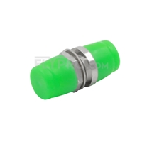 Picture of FC/APC to FC/APC Simplex Single Mode Small D Fiber Optic Adapter/Mating Sleeve without Flange