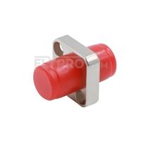Bild von FC/UPC auf FC/UPC Simplex Singlemode/Multimode Square Solid Typ Ein Stück LWL-Adapter/Führungshülse aus Metall mit Flansch