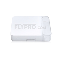 Picture of 2-Port Fiber Optic Wall Plate Outlet, Unloaded
