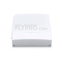 Bild von 2-Port Fiber Optic Wall Plate Outlet, Unloaded