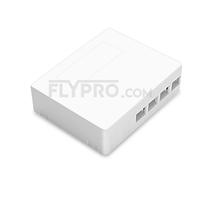 صورة 4 Ports FTB-104B-S Wall Mounted Fiber Terminal Box as Distribution Box Without Pigtails and Adapters